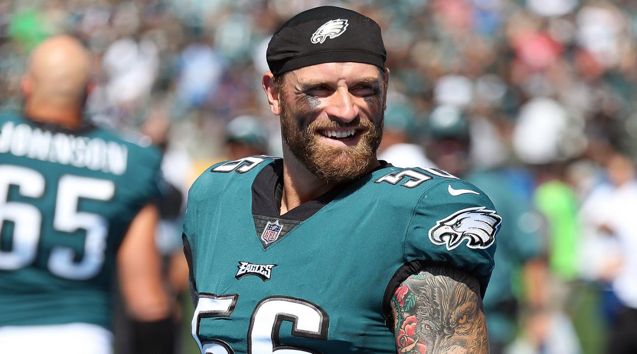Eagles' Chris Long Playing For Free Season Salary Donated To Charity