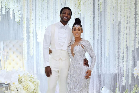 Gucci Mane's Wedding Cake Costs $75K and Had to be Cut With a Sword
