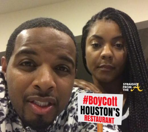 The #ShutItDown Movement Boycotts the Restaurant Houston's