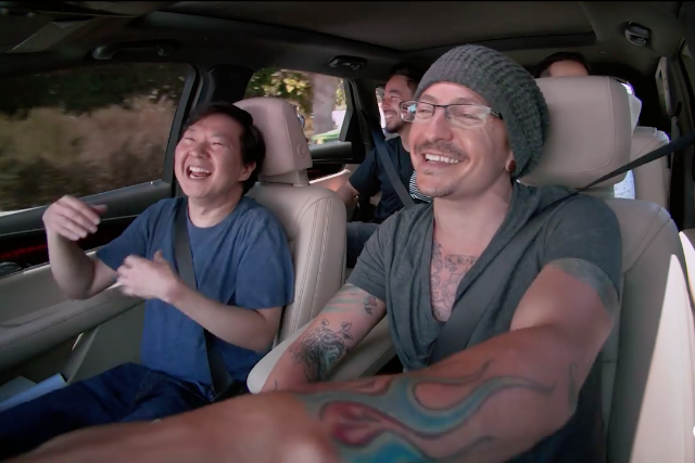 Linkin Park, Ken Jeong Taped 'Carpool Karaoke' Episode a Week Before Chester Bennington Committed Suicide