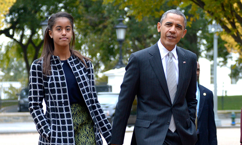 Malia Obama Interned for Harvey Weinstein's Company, Barack & Michelle Obama Are Disgusted by Harassment Claims