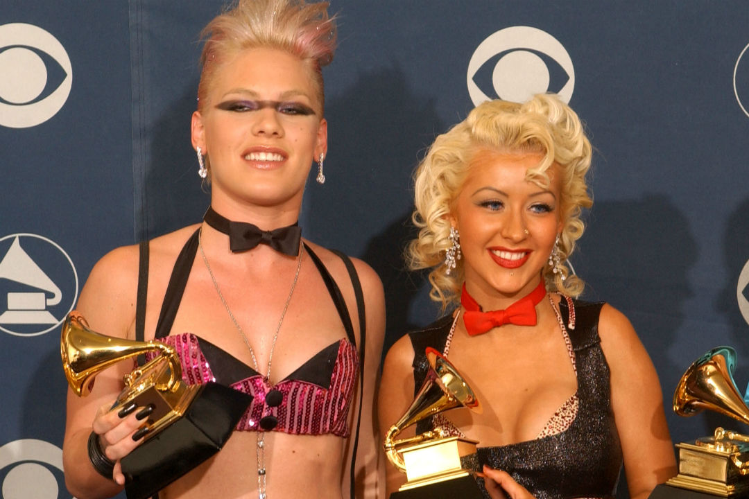 Pink Recalls the Time Christina Aguilera Tried to Punch Her