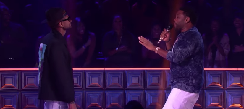 Usher and Anthony Anderson Rap Battle on Episode 1 of Drop the Mic Hosted by Method Man