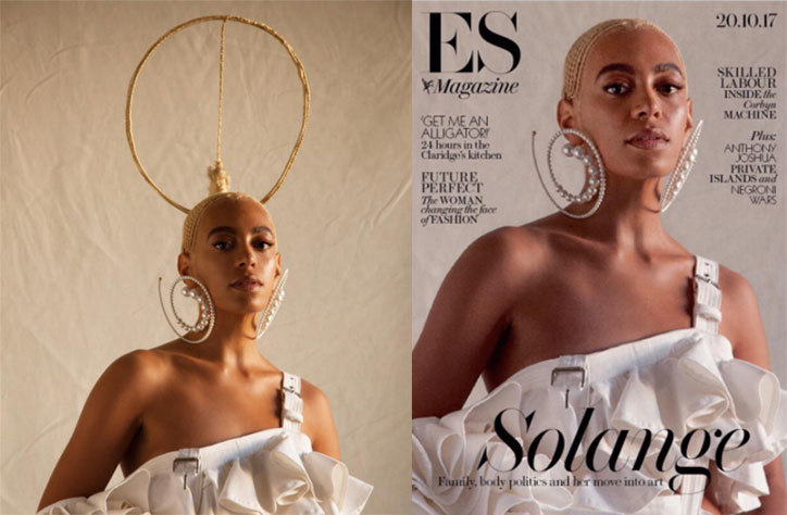 Solange Tells Magazine 'Don't Touch My Hair' For Photoshopping Her Hair
