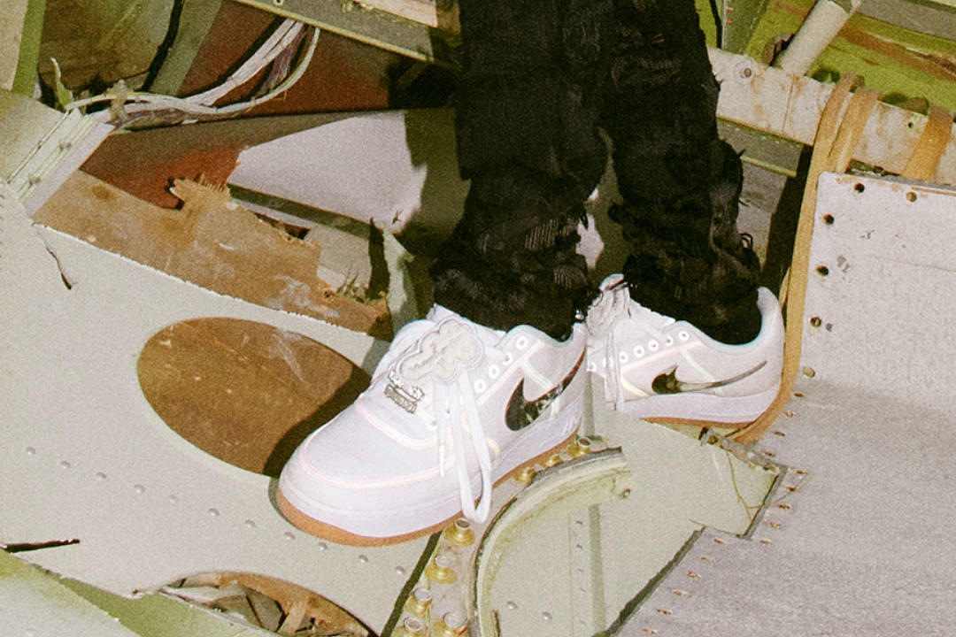 Travis Scott's Nike Air Force 1 Low Collaboration is Clean AF