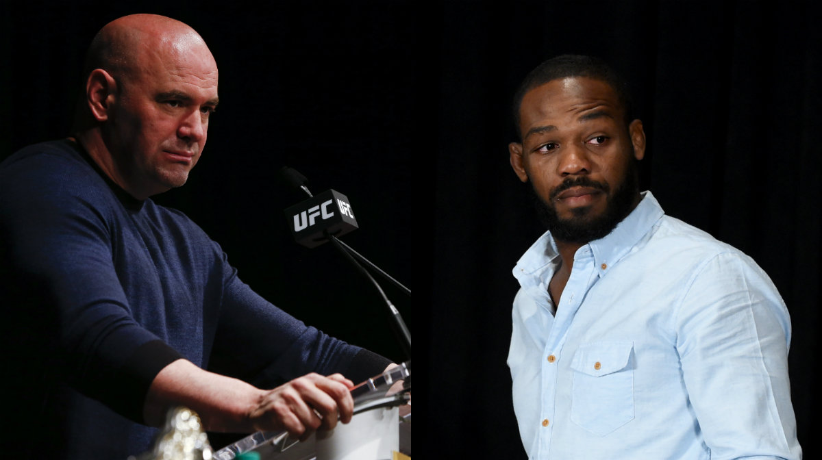 UFC President Dana White Calls Former UFC Champ Jon Jones a Disappointment