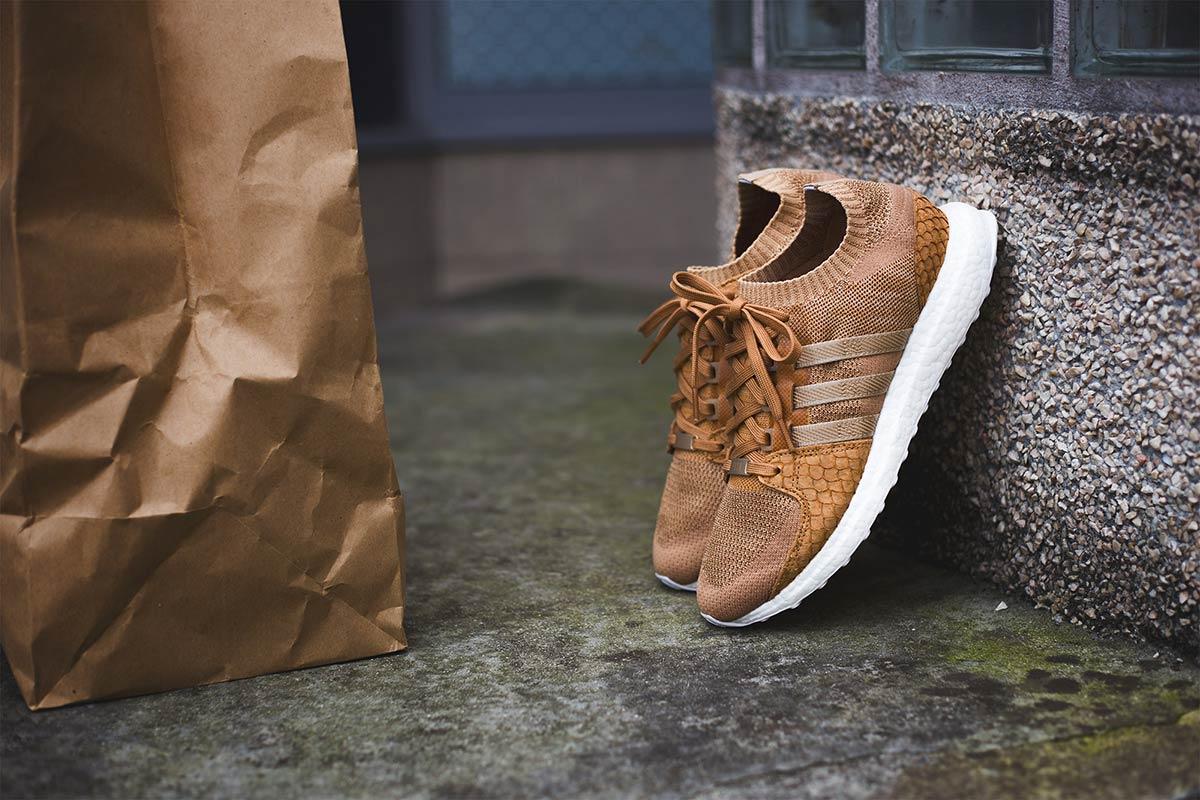 adidas brown paper bag king push
