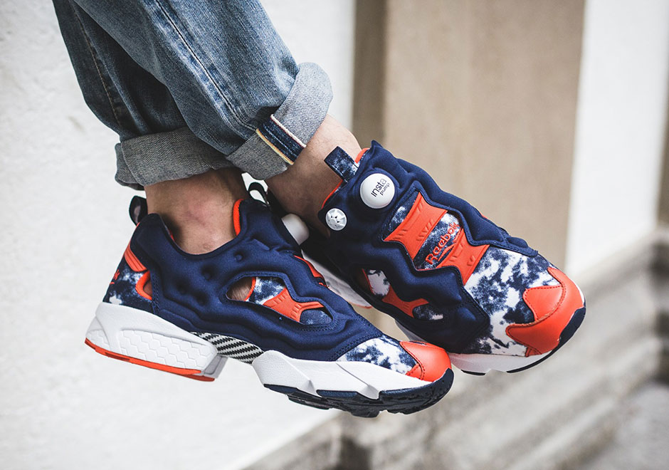 atmos reebok instapump fury bleached BS Front