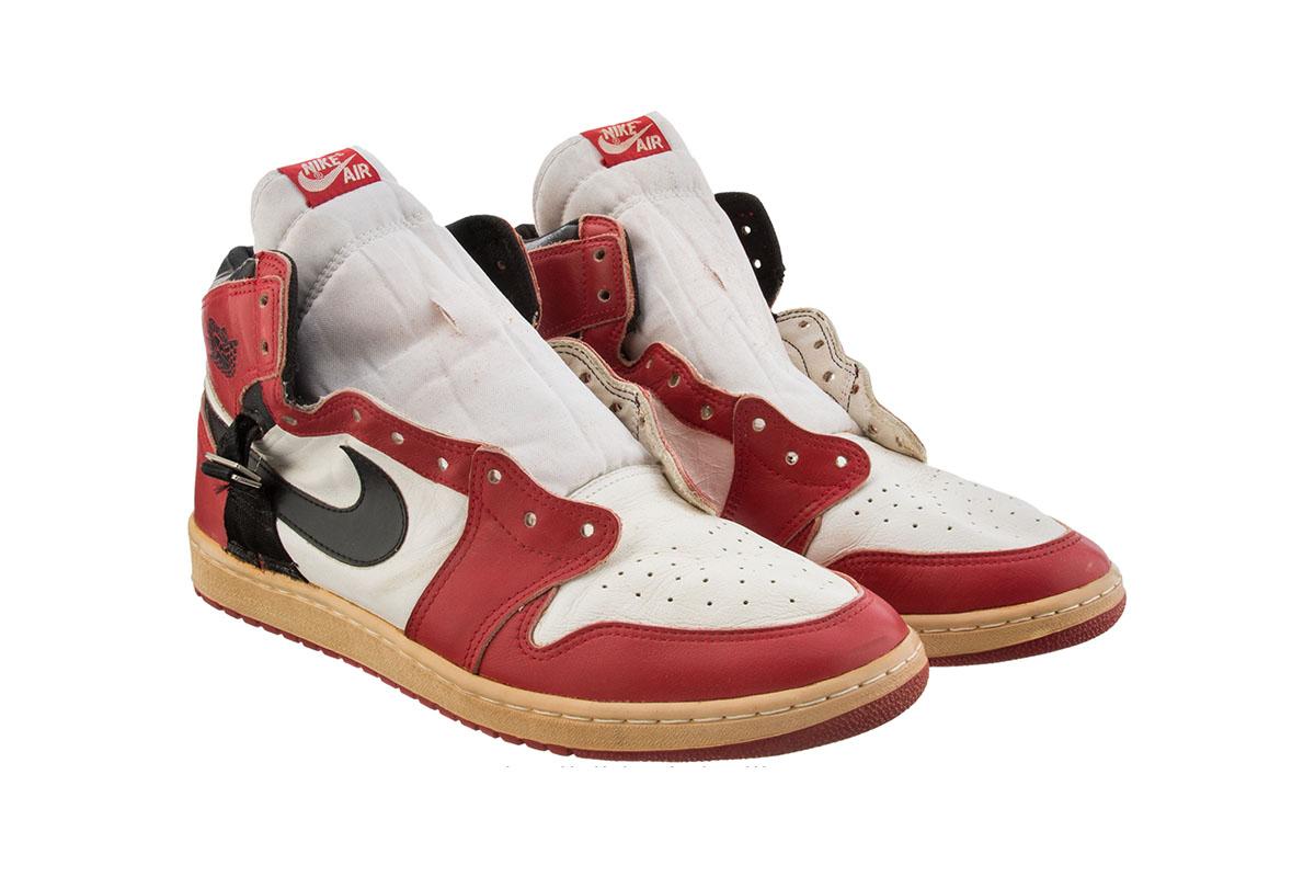Jordan Shoes Up For Auction