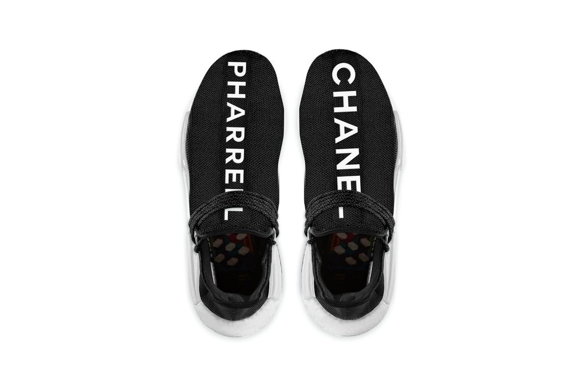 a31409f4c adidas Originals x Pharrell x Chanel In the Works