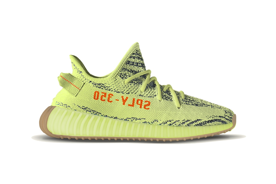 """a259346b adidas Originals x YEEZY BOOST 350 V2 """"Semi Frozen Yellow"""" Release Date  Revealed"""