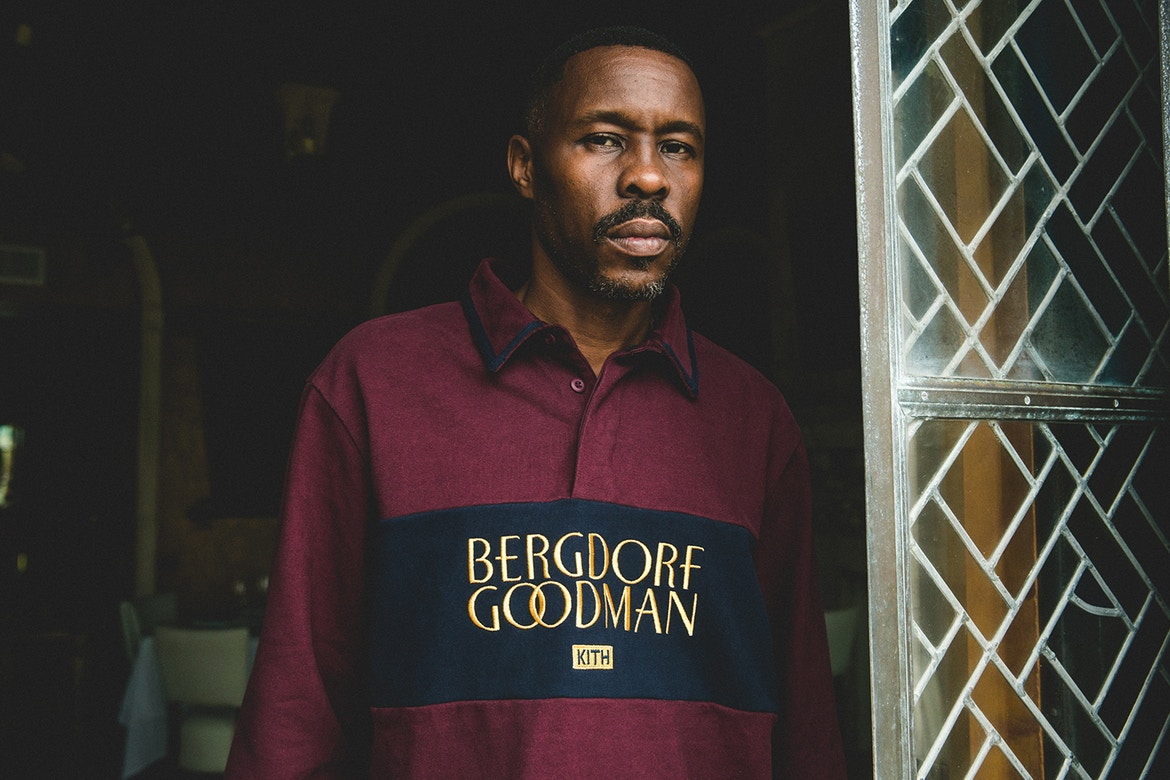 029de6cc4a2b2 KITH x Bergdorf Goodman Fall 2017 Lookbook Features Wood Harris