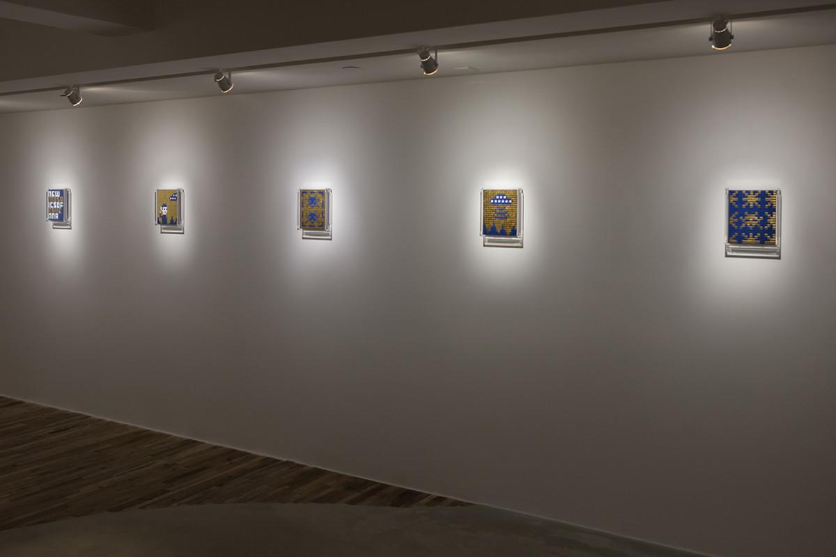 invader new mosaics of ravenna exhibition