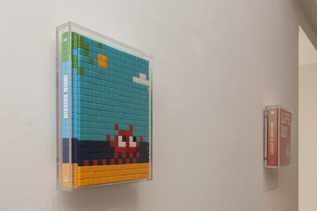 invader new mosaics of ravenna exhibition