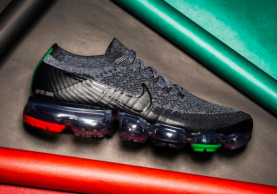 "4ca6cd77f2 The Nike VaporMax Flyknit ""Black History Month"" Will Release In 2018"