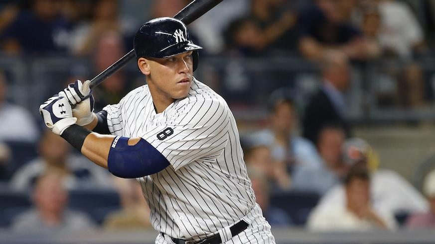 Aaron Judge Named American League Rookie Of The Year