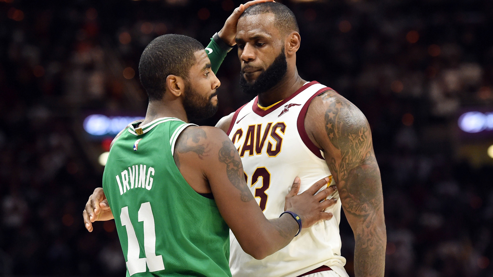 As Kyrie Irving Shines LeBron James Throws a Little Shade