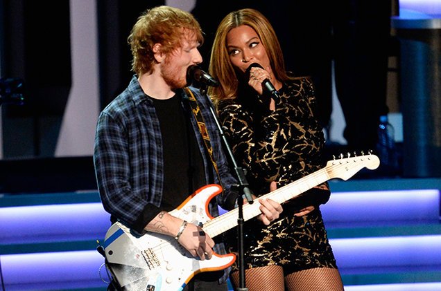 Ed Sheeran & Beyonce Collaborate On