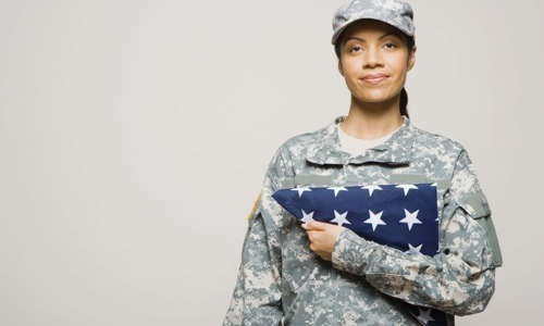 Black Female Veteran