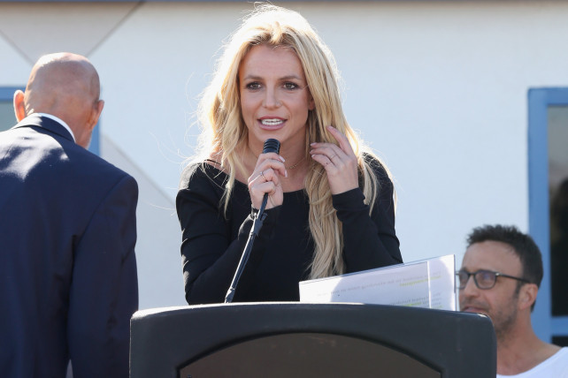 Britney Spears Opens Children's Cancer Foundation Campus