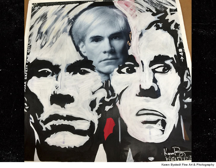 Chris Brown's Andy Warhol Painting to Be Sold to Donate Towards Hurricane Relief