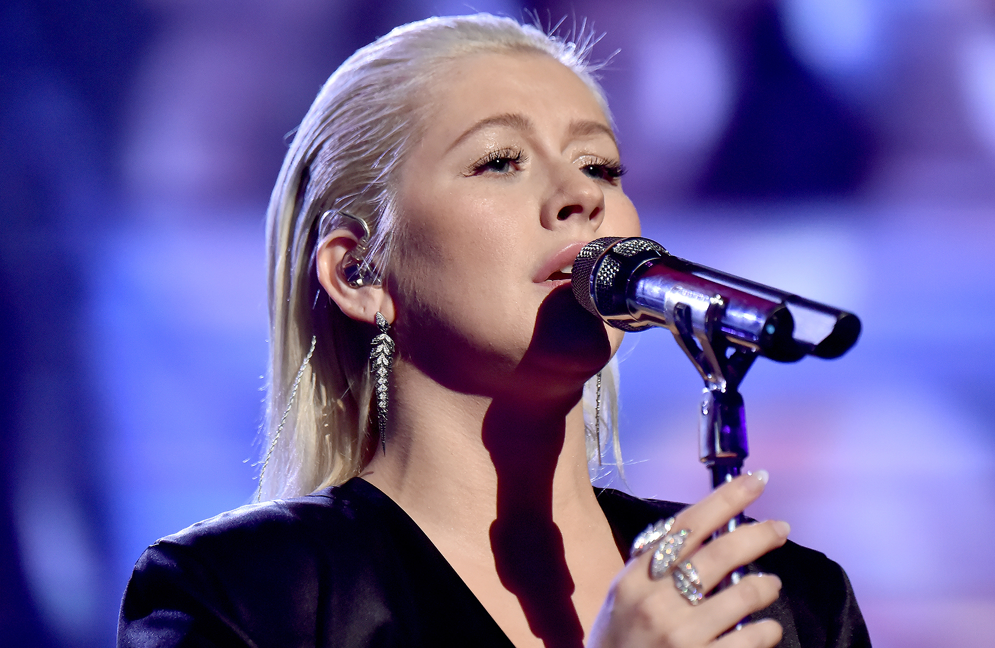 Christina Aguilera's Whitney Houston Tribute Has the Internet Divided