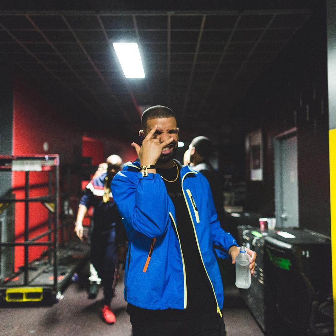 Drake Prada jacket Hermes bracelet
