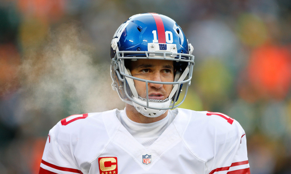 Eli Manning's Benching Sparks Twitter Debate