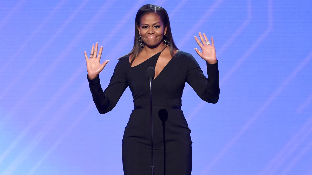 First Lady Michelle Obama Speaks on Sexual Misconduct