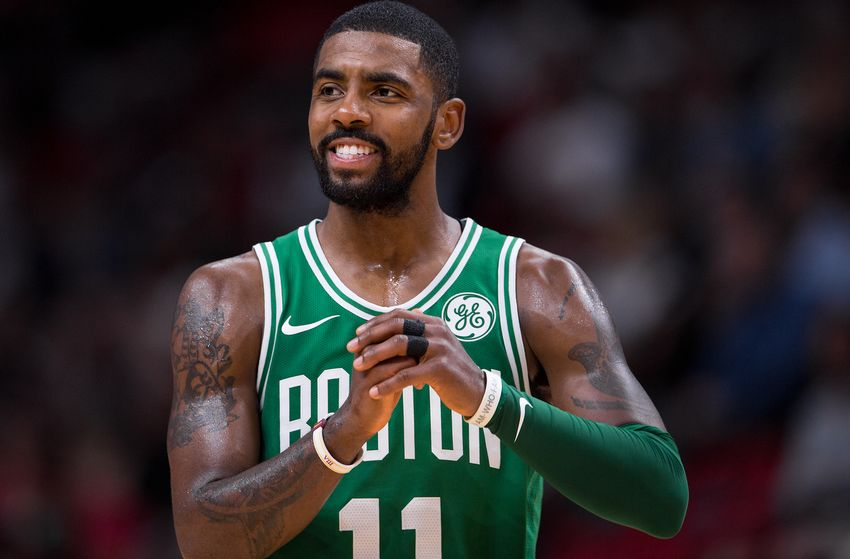Kyrie Irving Shows Love To The Military after Celtics' 13 Straight Win