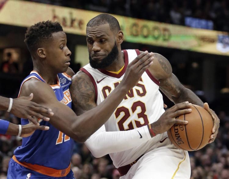 LeBron Takes Shots at Knicks Draft Selection Knicks Players Clap Back