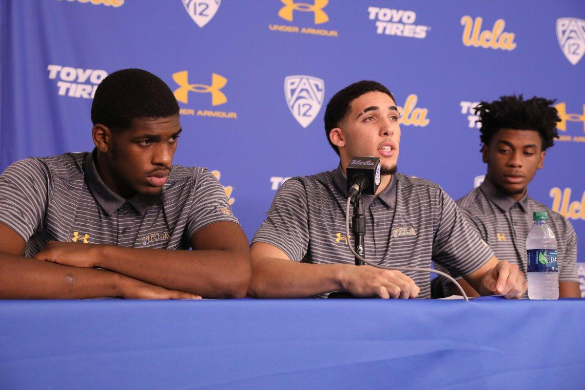 Li'Angelo Ball, UCLA Players Suspended Indefinitely for China Shoplifting Arrest