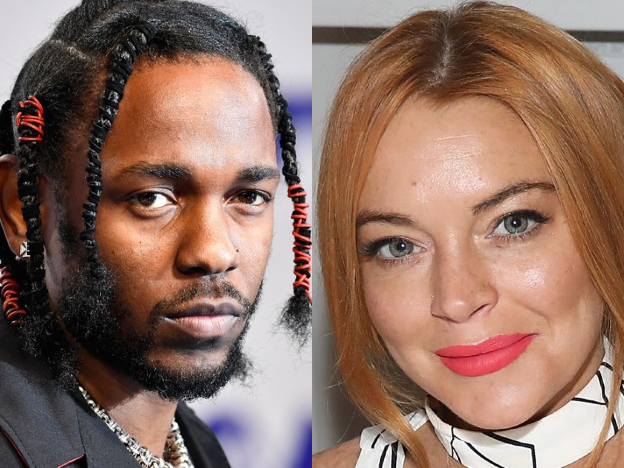 Lindsay Lohan Asked Kendrick Lamar to DM Her, Twitter Reacts