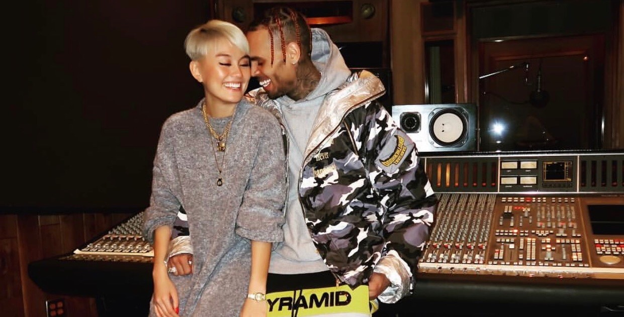 Looks Like Chris Brown is Giving Love Another Chance & Fans Are Pissed