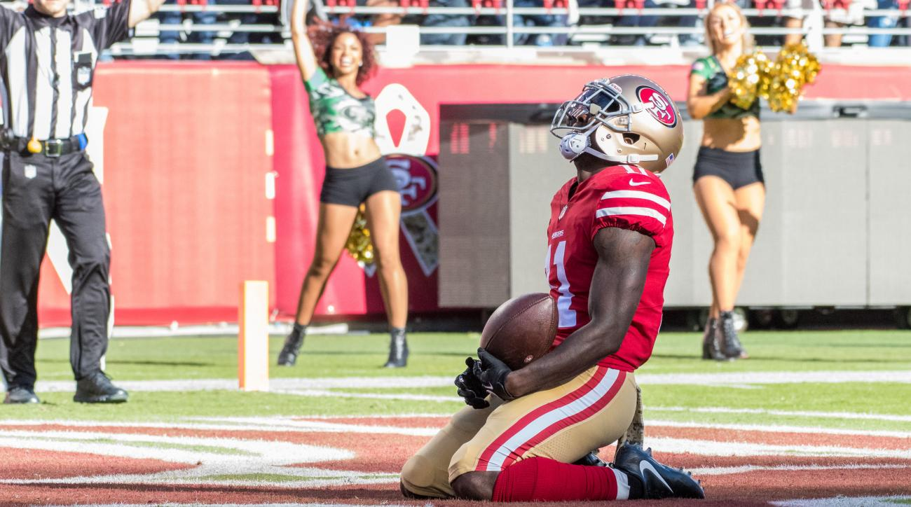 Marquise Goodwin Helps ers Get First Win After Losing His Son Hours Before Game