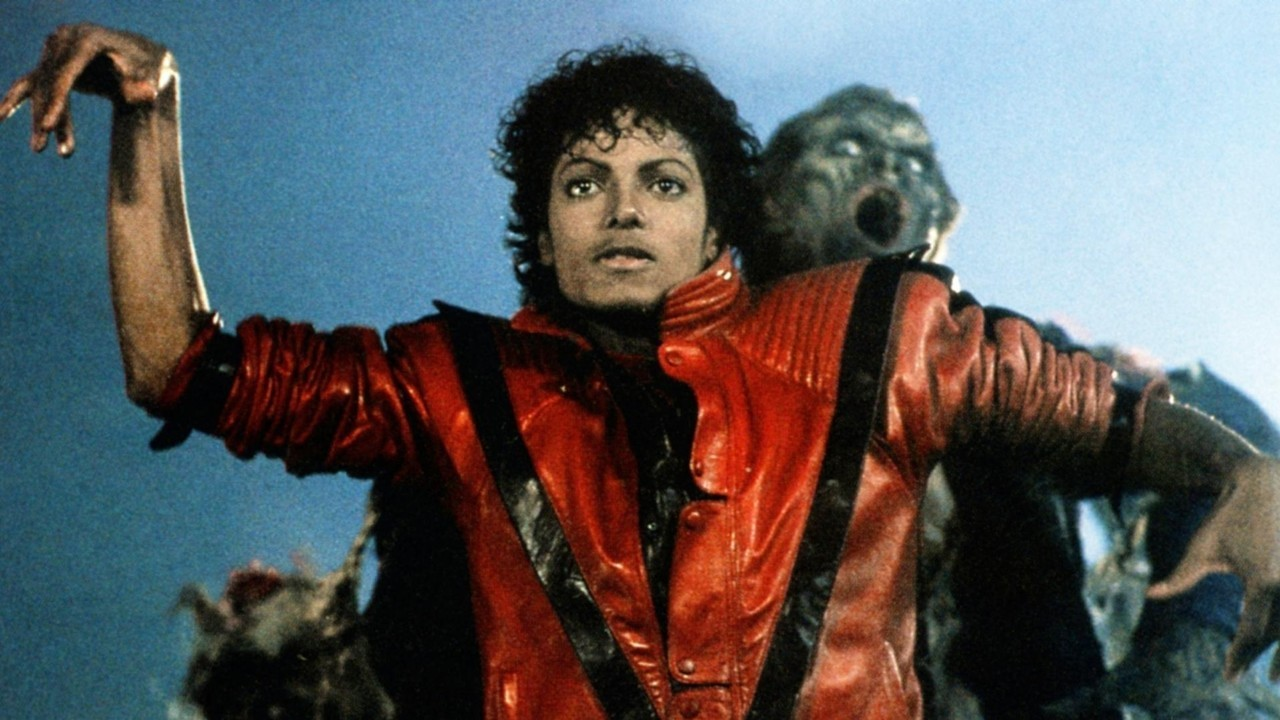 A still image from Michael Jackson's 'Thriller' music video.