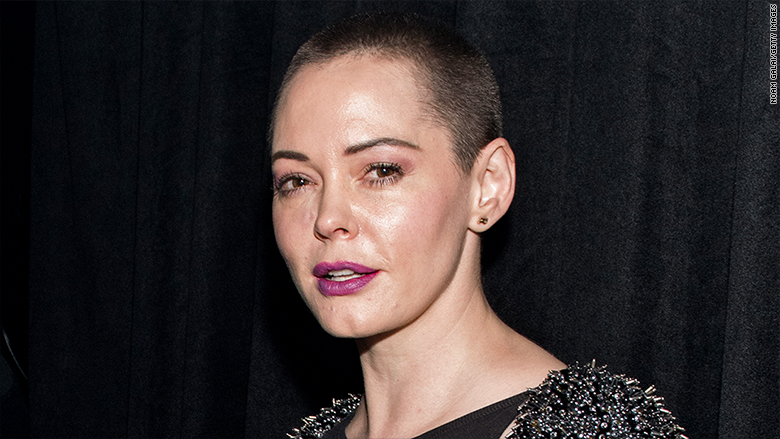 Rose McGowan surrenders to authorities on drug charges