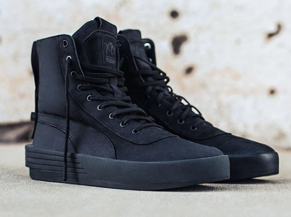The Weeknd and Puma Collaborate A Military XO Boot