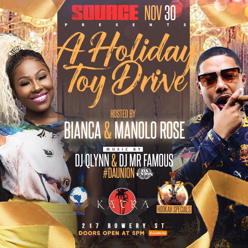 A Holiday Toy Drive: The Source Gives Back