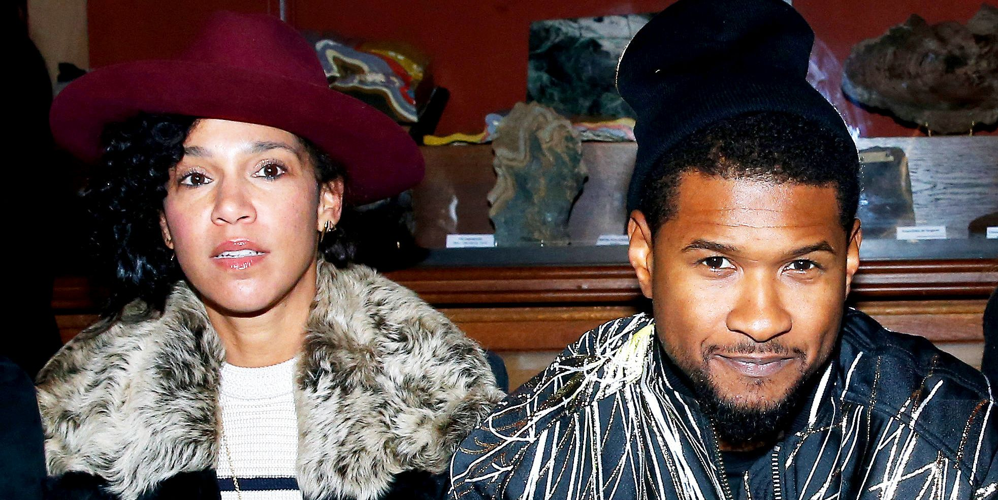 Usher's Wife Has a Message for Herpes Accusers