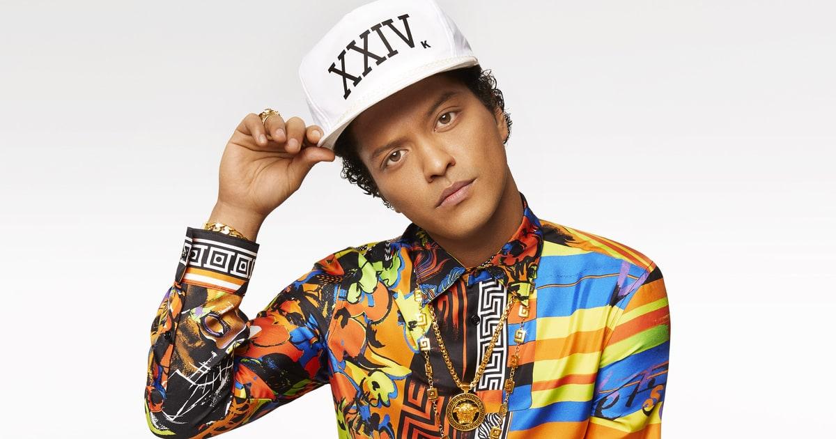 Bruno Mars announces huge Dublin show for summer 2018