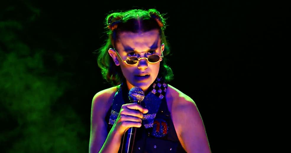 Millie Bobby Brown's 'Stranger Things' Rap on 'Jimmy Fallon'
