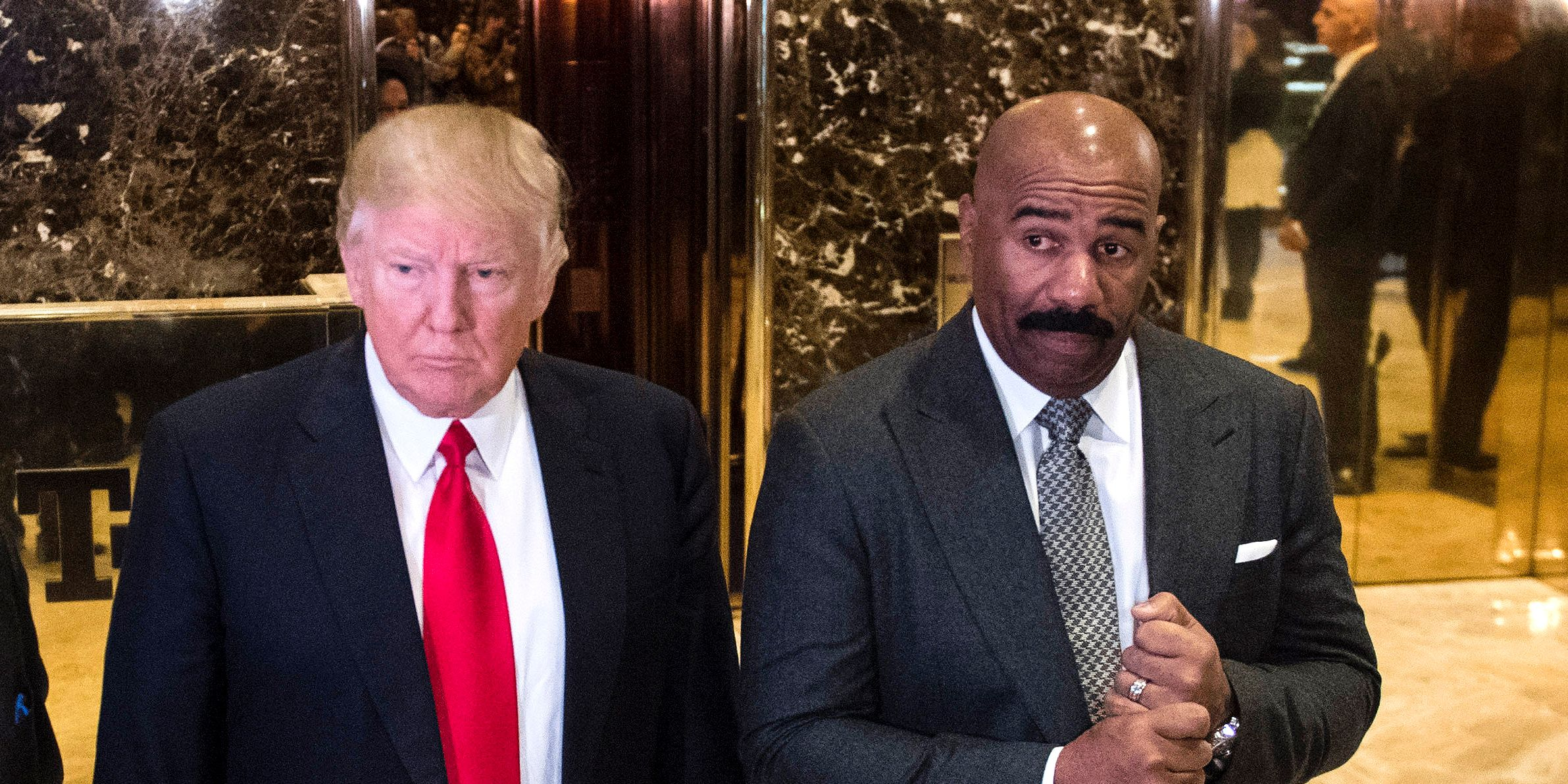 Steve Harvey's Ratings Plummet After Meeting With Trump