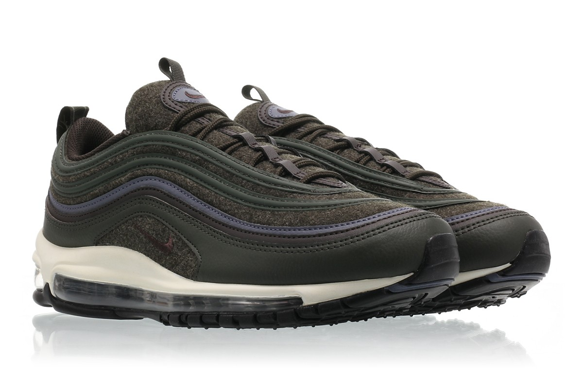 Nike Air Max 97 Premium Wool Sequoia Hits International Market