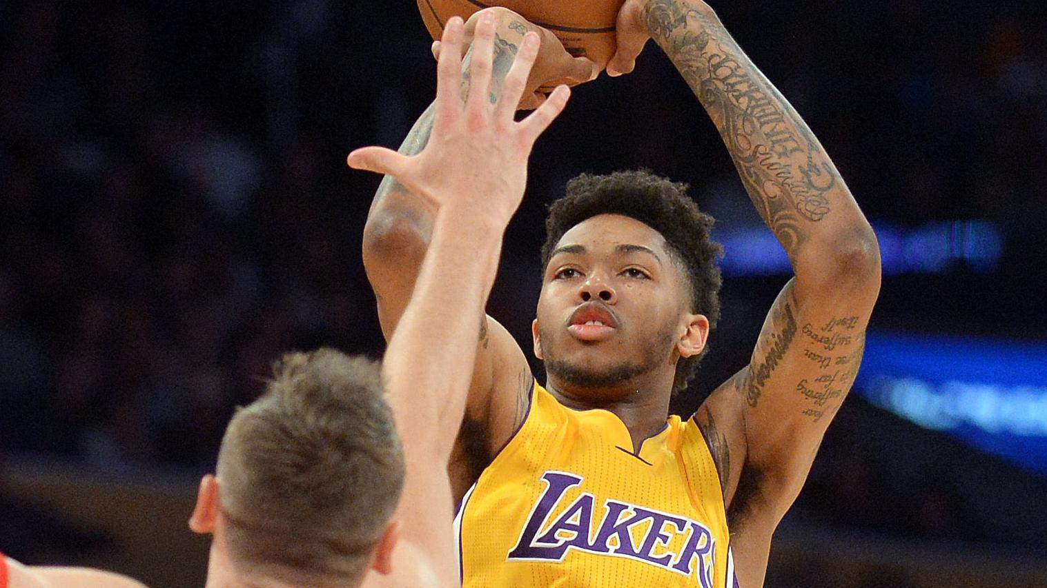 Brandon Ingram Nails Game Winner & Saves Los Angeles Lakers