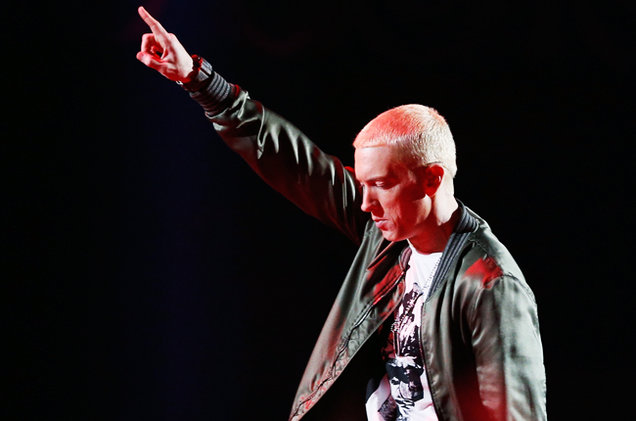 Eminem Tops Billboard Artist 100 Chart for the First Time in His Career