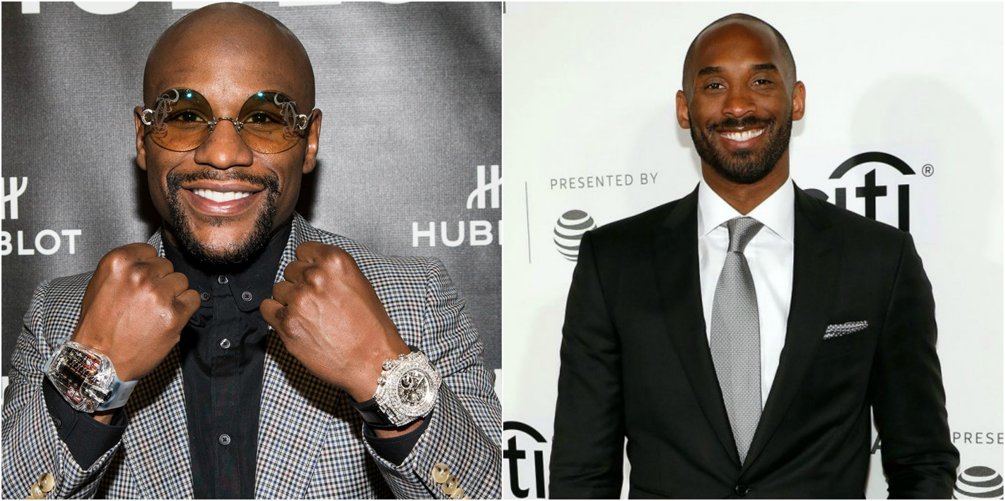 Floyd Mayweather Wants to Play Kobe Bryant 1-on-1 for $1 Million