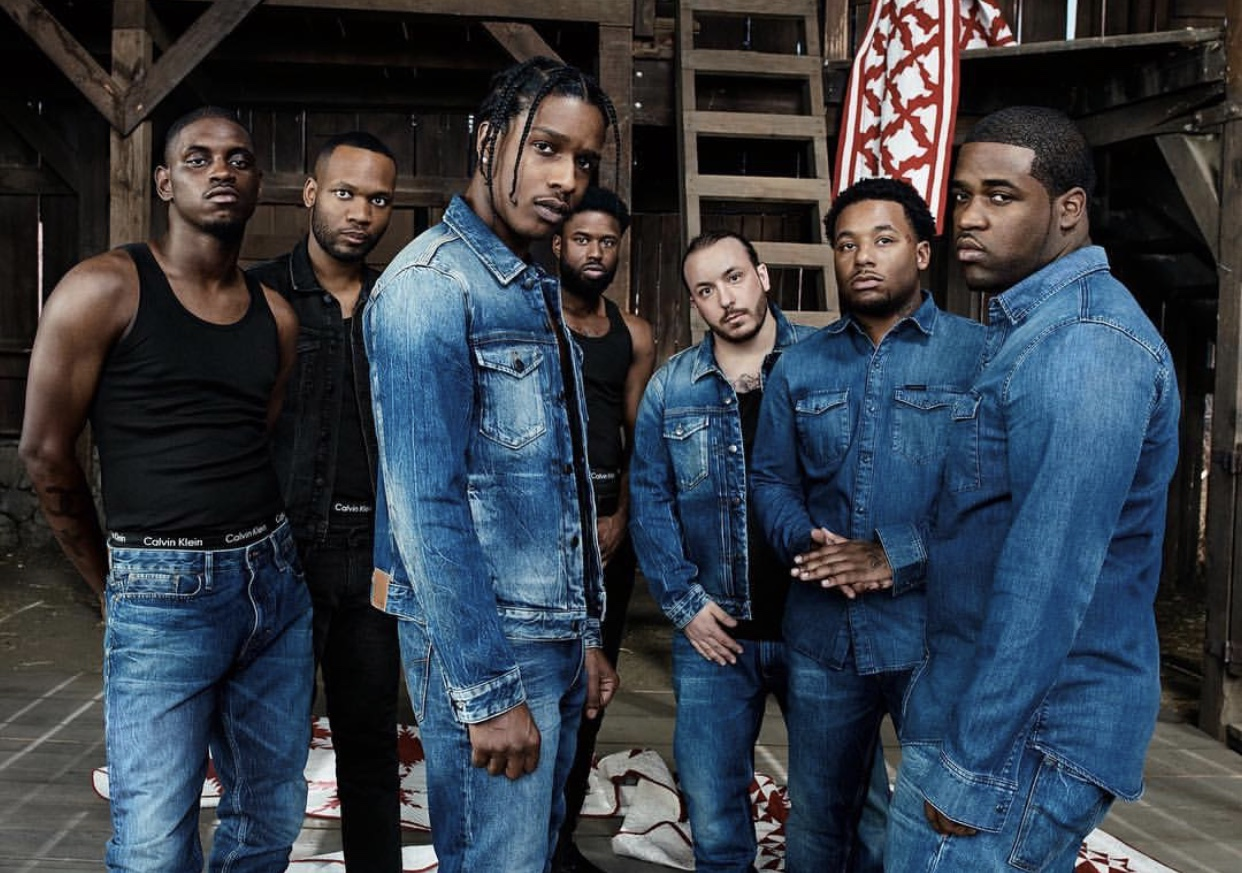 A$AP Mob Stars in Calvin Klein Campaign