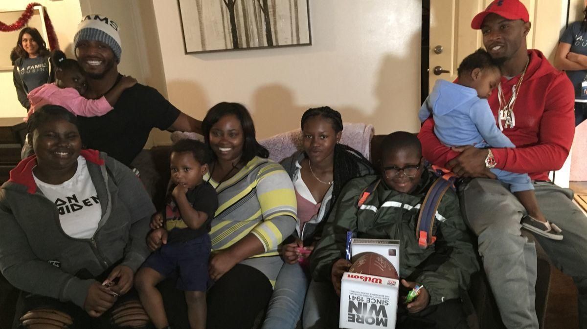 LA Rams' Tavon Austin and Robert Quinn Surprise Homeless Family With New Home