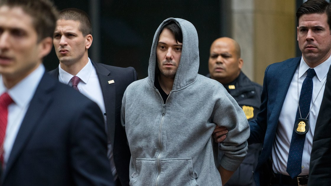 The Feds Want Martin Shkreli to Forfeit Unreleased Wu-Tang and Lil Wayne Albums